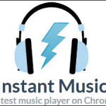 Chrome最速の音楽プレイヤー「Instant Music」