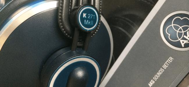 AKG / K271MKII モニターヘッドフォンをレビュー