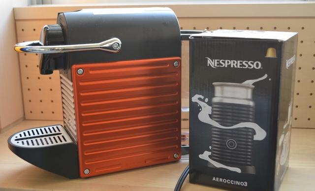 「ネスプレッソ(Nespresso)のコーヒーメーカー」がすげ〜便利でうまいしいい!