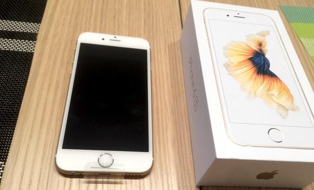 iPhone6sに機種変完了