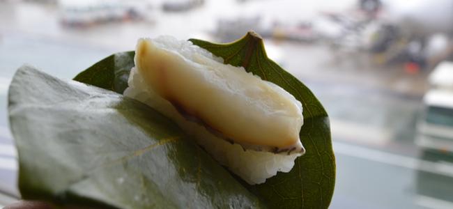 羽田空港の空弁「柿の葉寿司」がうまくてオススメ!