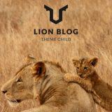 WordPressのテーマを変更。その名もLION BLOG