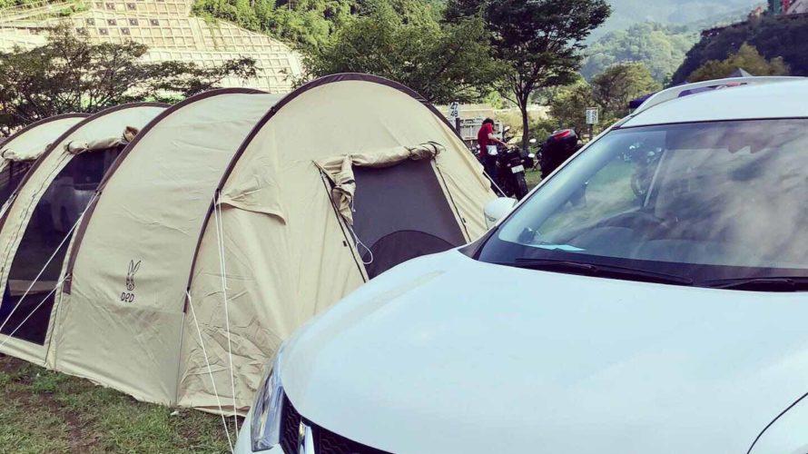 設営が簡単で広々使える、DOD(ディーオーディー) カマボコテント2はキャンプ初心者におすすめ!