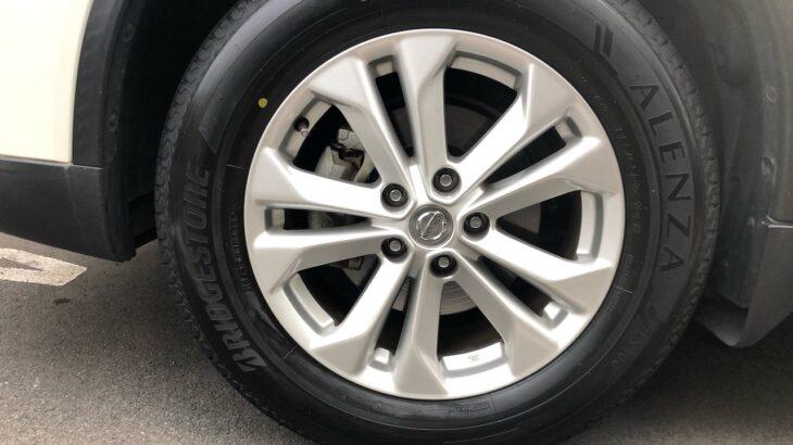 エクストレイルT32のタイヤをブリジストンのアレンザ(ALENZA)LX100に交換。かかった費用はどのくらい?